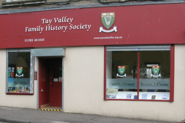 Tay Valley Family History Society Research Centre