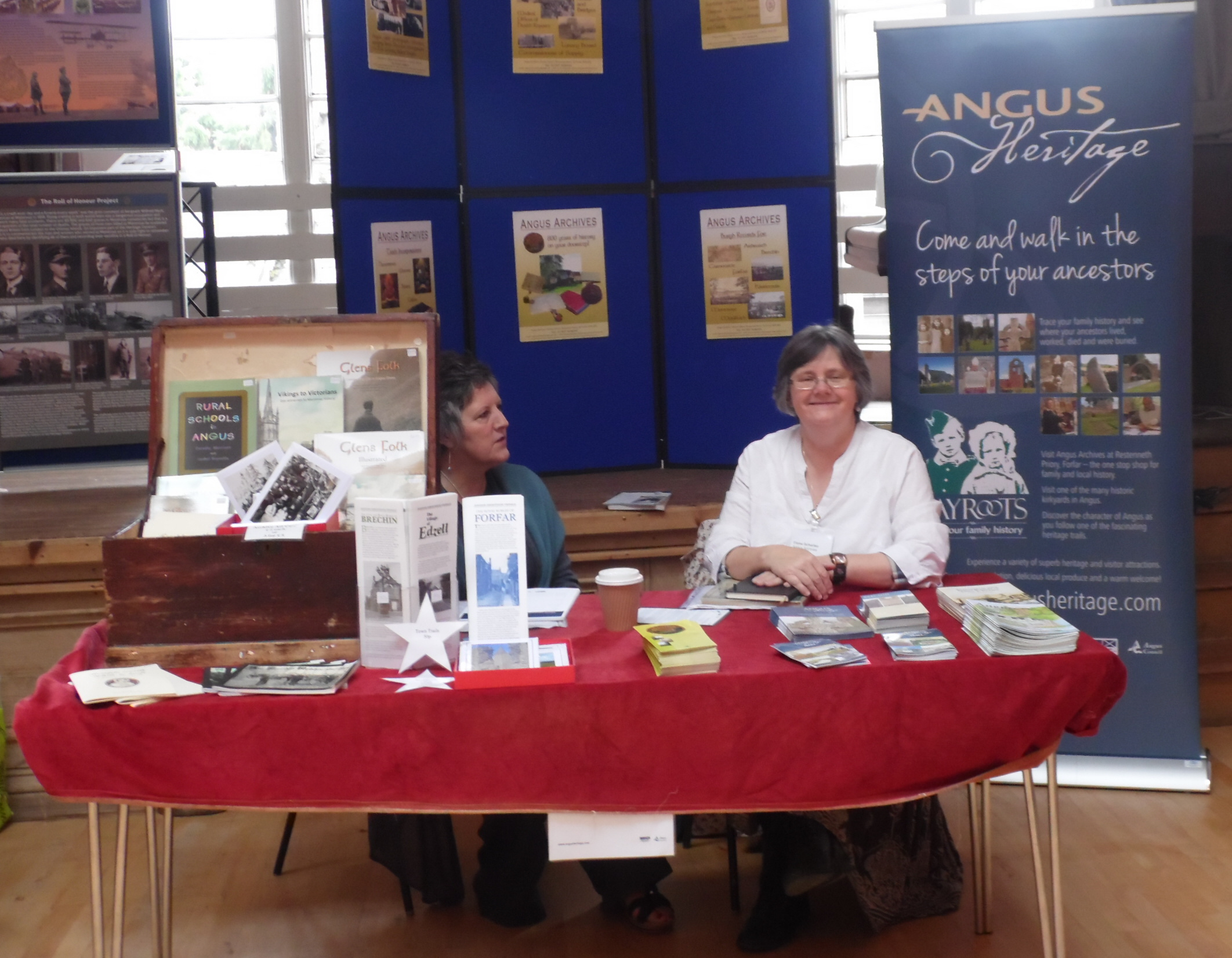 Angus Archives table